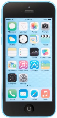 Apple iPhone 5C Blue 16GB Unlocked GSM Smartphone (Certified Refurbished) (Iphone 5c T Mobile compare prices)