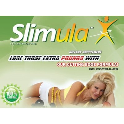 Diet Pills, Slimula Lose up to 20 Pounds in Just 4 Weeks!!! 60 Dietary Supplement, Slimming Capsules.