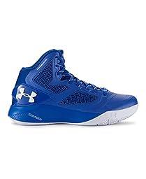 Under Armour Boys\' Grade School UA ClutchFit Drive 2 Basketball Shoes 6.5 TEAM ROYAL