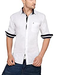 Ecohawk Brown Casual Slim Fit Shirt 8034-A