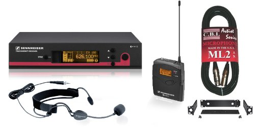 Ew-152 G3 Wireless Headset Microphone System Includes Free Rackmount Kit And Cable.