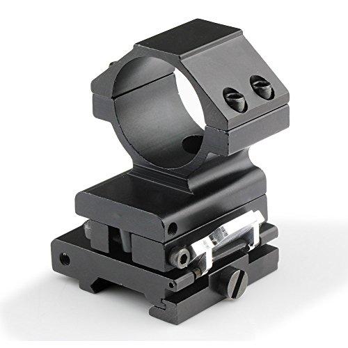 30Mm Flip To Side Qd Mount For Ap Et Magnifier Fits 20Mm Rails