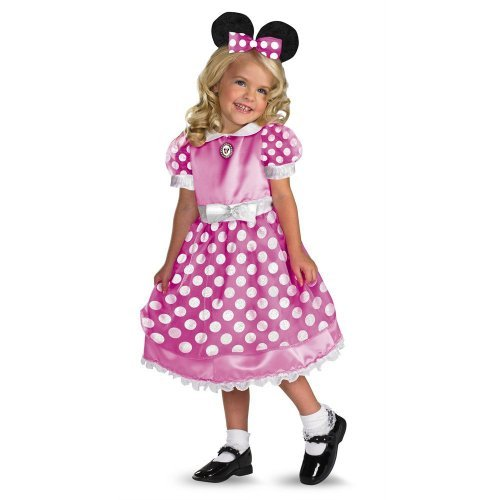 Disney Mickey Mouse Club House Minnie Mouse Costume M (8-10 Years)