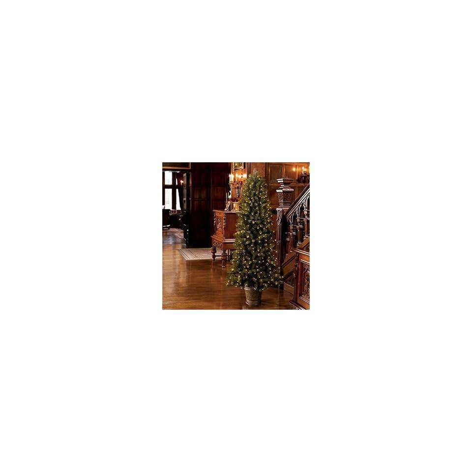 Kirkland Signature, Christmas Tree 6.5 Ft, Pre lit Just Cut Natural Tree