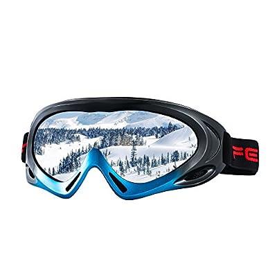 UINSTONE Ski Goggles Snow Goggles Outdoor Motorcycle Bike Snowmobile Snowboard Skate Ski Goggles