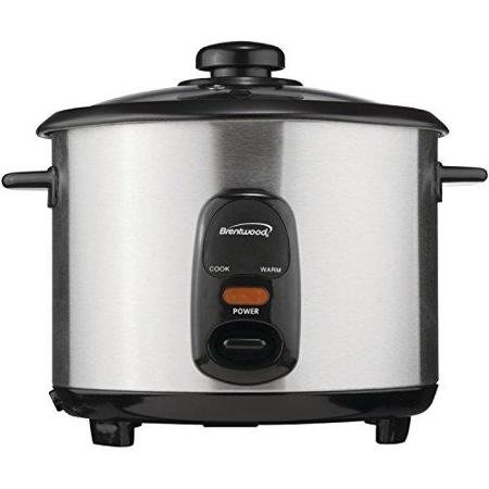 BRENTWOOD BTWTS15M Brentwood TS-15 8-Cup Stainless Steel Rice Cooker