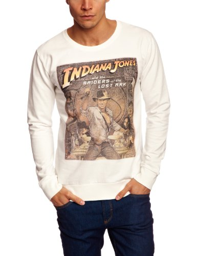 Selected Homme Jeans Indiana Jones Crew Neck Sweat C Men's Jumper Faded White X-Large