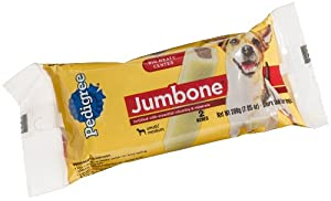 Pedigree Jumbone Snack Food for Small and Medium Dogs, 6-Count, 1.32-Pound Bones (Pack of 4)