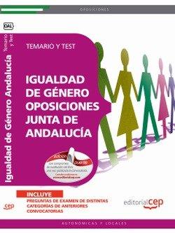 Temario y Test Igualdad de Género Oposiciones Junta de Andalucía (Colección 1116)