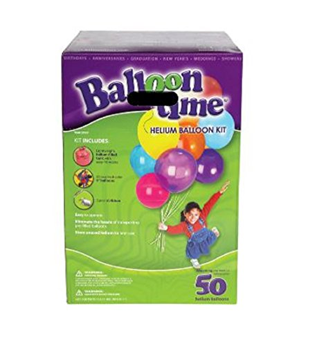 Balloon Time Helium Kit 0014045471411