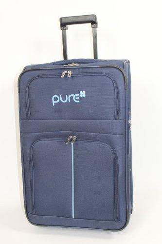 Trolley - Koffer PURE blau/blau 50cm