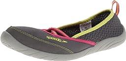 Speedo Women\'s Beach Runner 2.0 Amphibious Pull-On Water Shoe,Dark Gull/Neutral Grey,9 M US