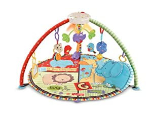 Fisher-Price Luv U Zoo Deluxe Musical Mobile Gym from Fisher Price Strollers