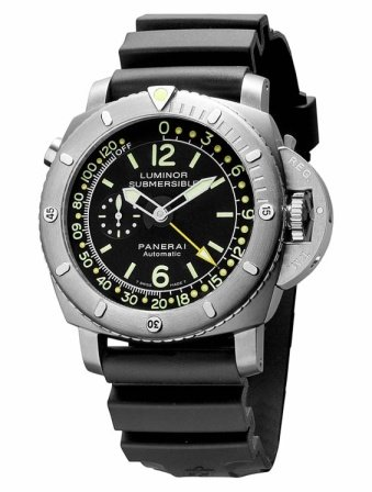 Panerai Luminor 1950 Submersible Depth Gauge Watch PAM00193