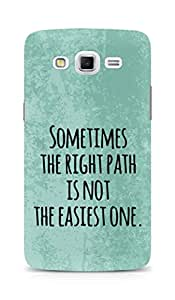 AMEZ the right path is not easy Back Cover For Samsung Galaxy Grand 3