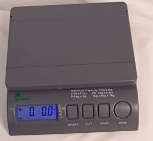 Digital Postal Shipping Postage Bench Scales 75 lbs