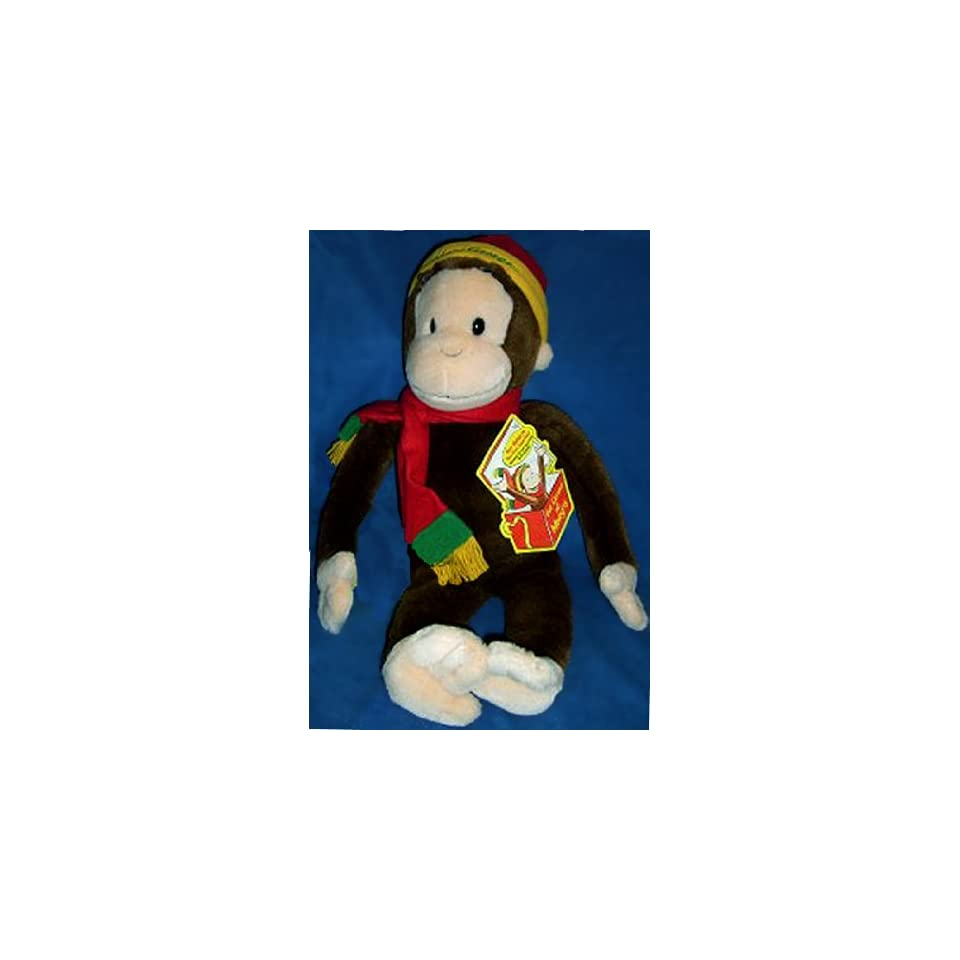 76478f5f1f Limited Edition Curious George Plush Doll with Book Curious George in the  Big City