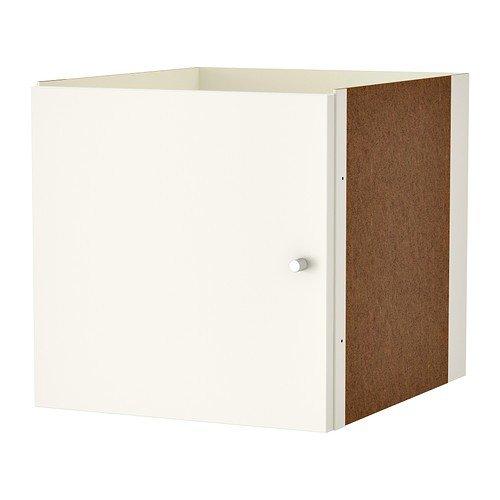 IKEA KALLAX Einsatz mit Tür in weiß; (33x33cm); Kompatibel mit ...