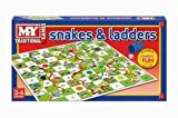 Acquista Snakes and Ladders Board Game tradizionale bambini Game