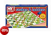 Snakes and Ladders Board Game tradizionale bambini Game