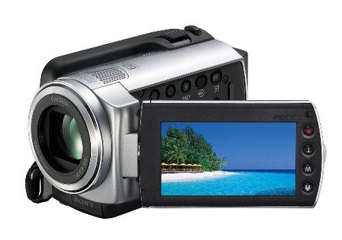 Sony Handycam DCR-SR38E - Camcorder - widescreen - 800 Kpix - optical zoom: 60 x - HDD : 70 GB - flash card