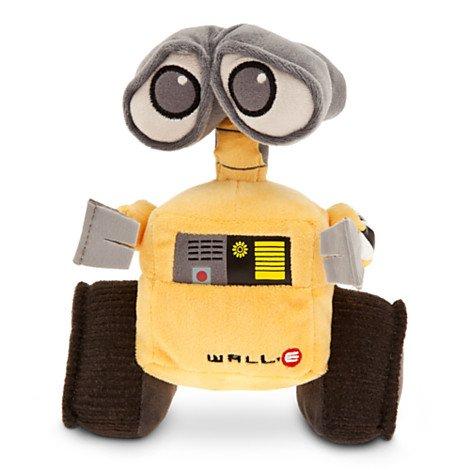 Disney Pixar Wall-E Movie Exclusive 7 Inch Mini Bean Plush WALL-E