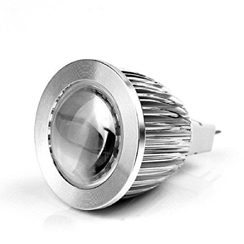 10Pcs Mr16 7W 12V Cool White Ultra Bright Cob Led Spot Down Light Lamp Bulb