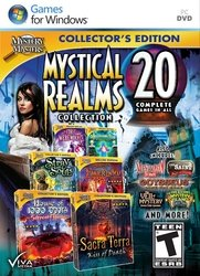 MYSTERY MASTERS: MYSTICAL REALMS COLLECTION - 20 PACK AMR (WIN XP,VISTA,WIN 7,WIN 8) (Please see item detail in description)