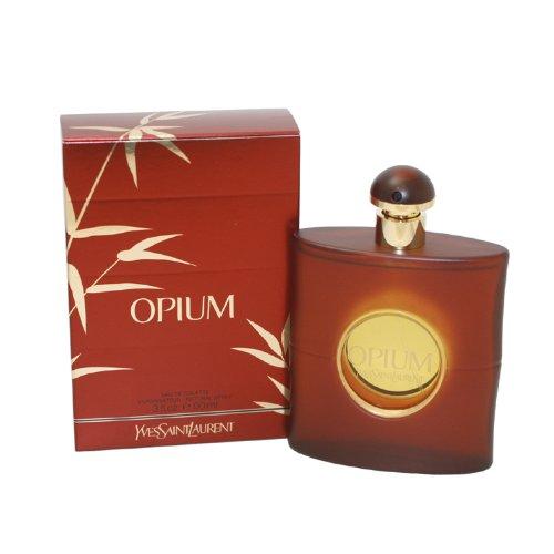 Perfume OPIUM de Yves Saint Laurent, para mujer. 90 ml.