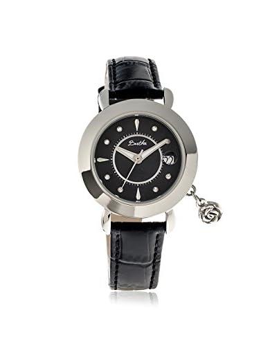 Bertha Women's BTHBR5502 Rose Black Leather Watch