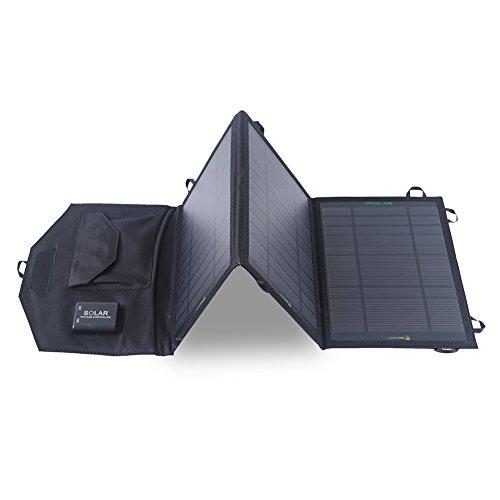 SUNKINGDOM  折りたたみ式ソーラーチャージャー 19.5W 2ポート