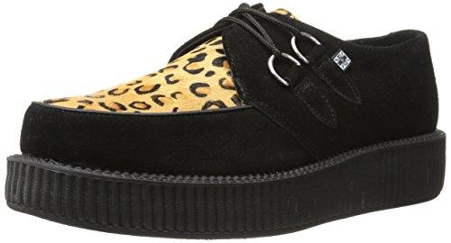 T.U.K.  Low Sole Round Creeper,  Sneaker donna Nero nero 39