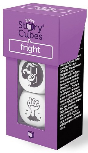 Rory Story Cubes Fright Juego de mesa de dados para crear cuentos e historias, temática miedo (podría no estar en español)