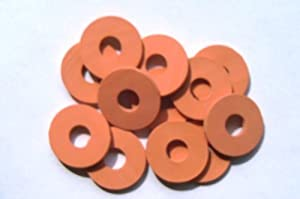 Replacement Self Forming Gasket for Swing Top Bottles From Bormioli Rocco, Ez Cap 24 Pcs