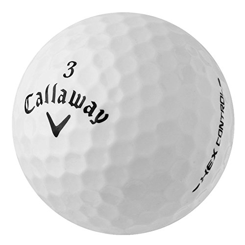 PearlGolf 50 Callaway Hex Control - AAA - weiß - Lakeballs - gebrauchte Golfbälle