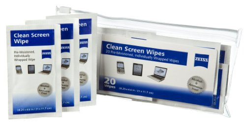 Zeiss Lcd Clean Screen Wipes (Compatible With All Kindle And Fire Models), 20 Count