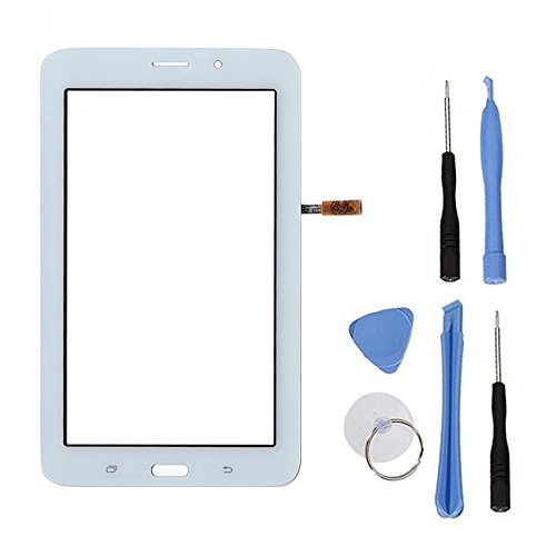 BCSHOP - VETRO TOUCH SCREEN PER SAMSUNG GALAXY TAB 3 7.0 VE LITE T116 BIANCO NO LCD