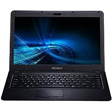 "Reach Quanto RCN-025 (Intel Braswell Celeron N3050 Dual Core 1.6 Ghz/LPDDR3 4GB/500 GB SATA HDD/14""/DOS) (Black)"