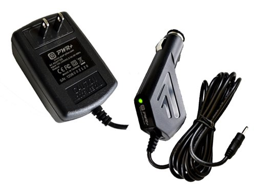 Pwr+ Excess Long Cord 2 in 1 Combo Ac Adapter + Car Charger for Motorola Xoom Tablet Mz600 Mz601 Mz603 Mz604 Mz605 Mz606 Motmz600 Motmz604 ; P/n Fmp5632a Ma 89452n 89453n Sjyn0597a Spn5633a Spn5633 Pc-moxoombk Android Color Ebook Reader Tablet Pc Pad Han