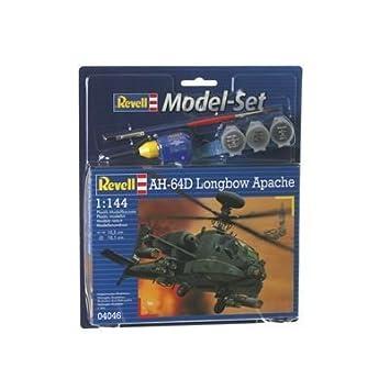 Revell - Maquette - Modèle Ah-64D Longbow Apache - Echelle 1:144