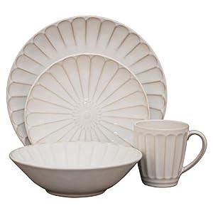 Sango Sundance 16-Piece Dinnerware Set, White