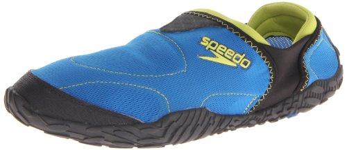 Speedo Men's Offshore Amphibious Pull On Water Shoe,Imperial Blue/Black,12 M US
