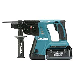 Makita BHR261 36-Volt LXT 1-Inch Lithium-Ion Cordless SDS-PLUS Rotary Hammer Kit