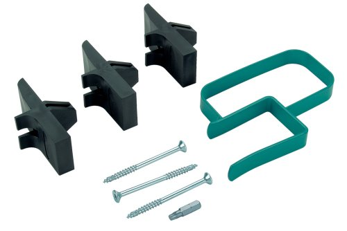 Wolfcraft 4040000 1 Plaster Board Fixing System, Contents: Fixing Clip, 3 Holding Bits, Screws and Bit