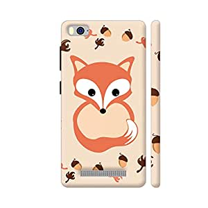 Colorpur Fox In Autumn Designer Mobile Phone Case Back Cover For Xiaomi Mi 4i | Artist: VanessaGF