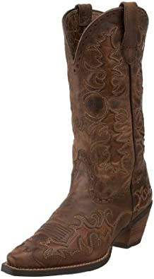 Ariat Women's Dandy Boot,Sassy Brown/ Sand Hill Brown,8 M US