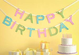 Martha Stewart Crafts Happy Birthday Banner by Master Chef