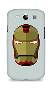 Amez designer printed 3d premium high quality back case cover for Samsung Galaxy S3 i9300 (Iron Man)