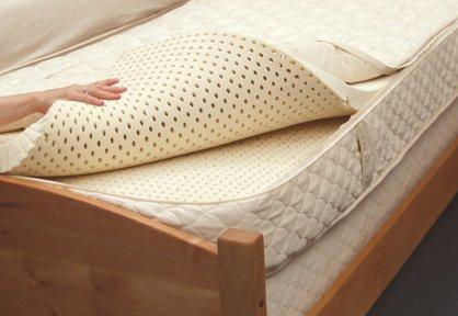 Pure Rest Organic Mattress Multi Layered Natural Rubber King Basic