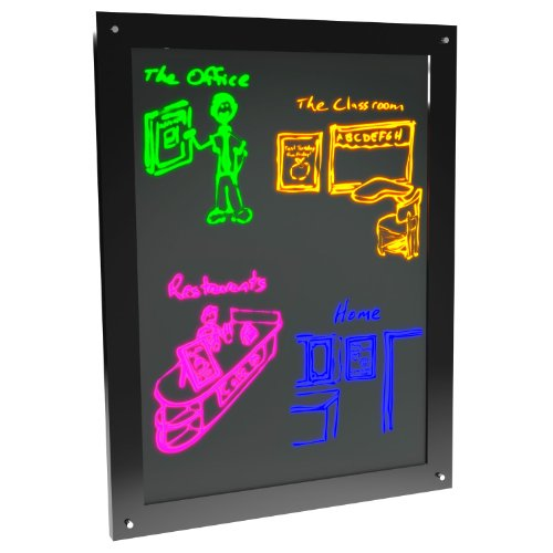Led Erasable Glowing Marker Board, Sign, Display For - Messages, Menus, Sales...